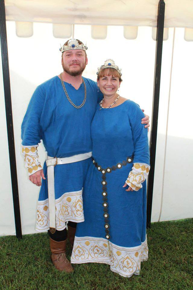 King Guillaume Tomas le Lou and Queen Alyna of the Vale
